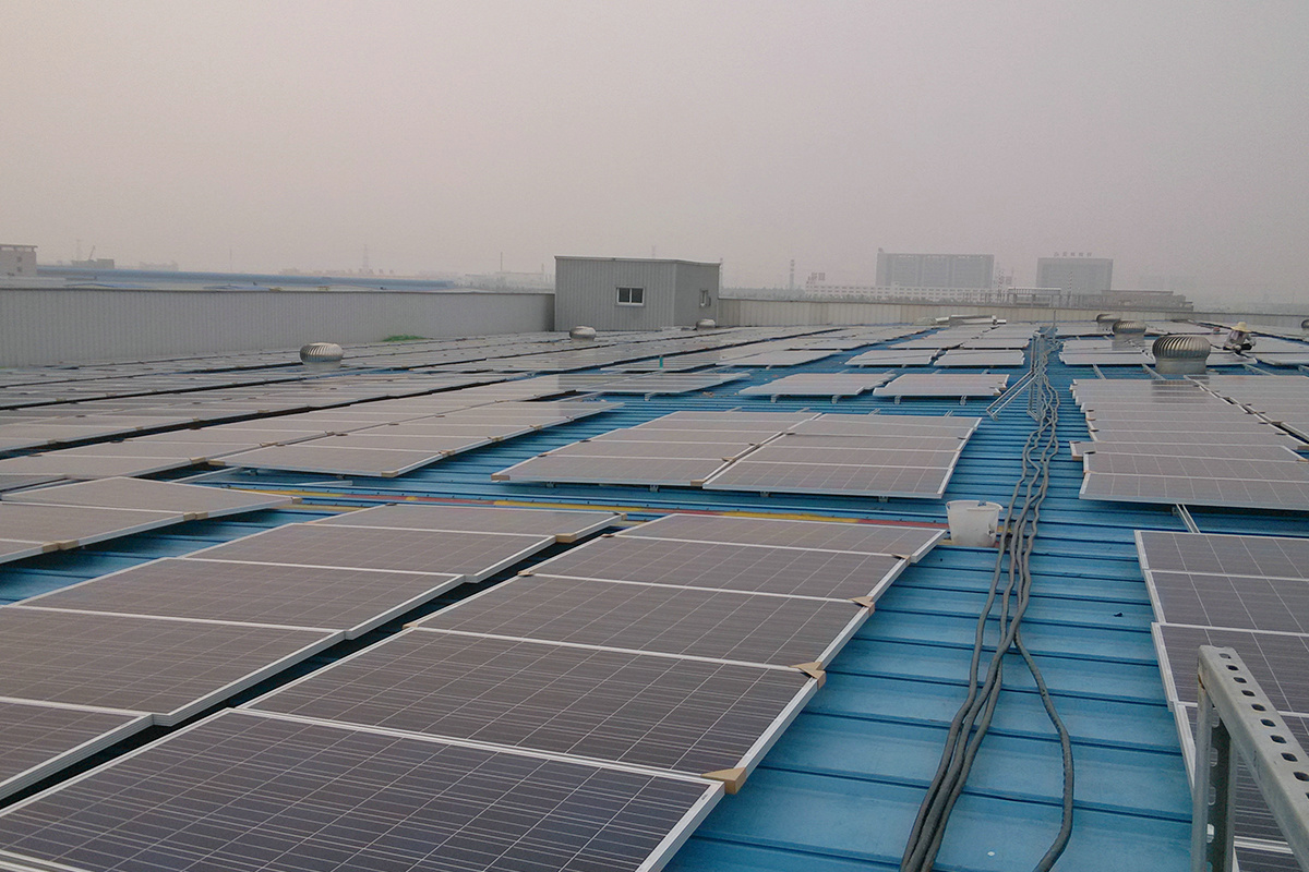 Usina fotovoltaica de 15MW na China